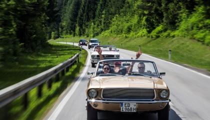 Oldtimer Spritztour rundum den Starnberger See