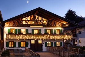 Tagung in einem 350 Jahre alten Werdenfelser Bauernhaus
