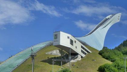 Führung auf die Olympia Skisprungschanze in Garmisch Partenkirchen!
