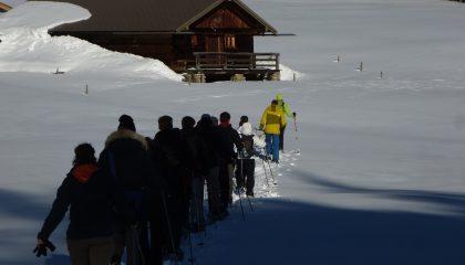 Geführte Schneeschuhwanderungen in den Bayerischen Alpen