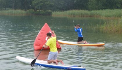 Stand up Paddling am Staffelsee oder Walchensee