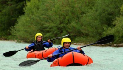 Trekraft Training Wildwasserfahren und Kehrwasserfahren