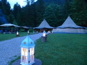 Alpen BBQ workshop im Tipi-Dorf